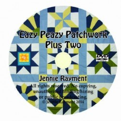 E151 JENNIE RAYMENT - EAZY PEAZY PATCHWORK TWO DVD