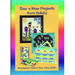 E166 KARIN HELLABY SEW A ROW OF PROJECTS BOOK
