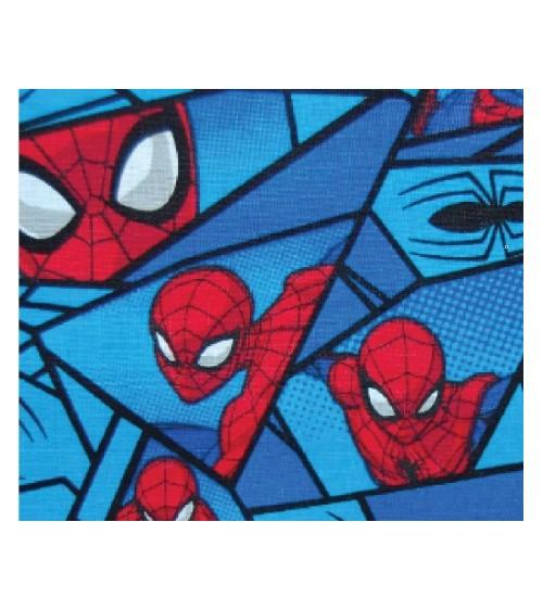 3131308-01 TESSUTO COT.cm110 Spiderman Mosaic