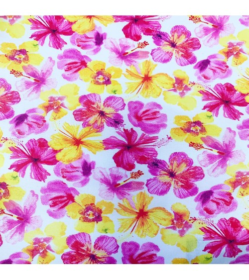 31316464 TESSUTO COT.cm110 Tropical Floral