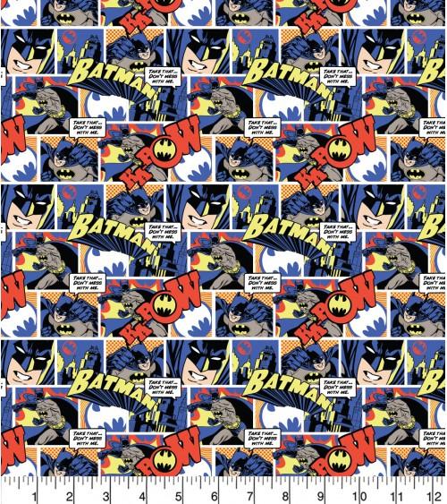 3132320-33 TESSUTO COT.cm110 Batman Pop Comics