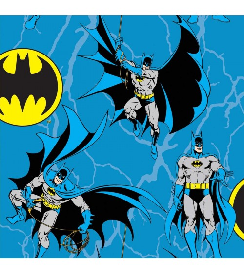 3132320-38 TESSUTO COT.cm110 Batman Rope