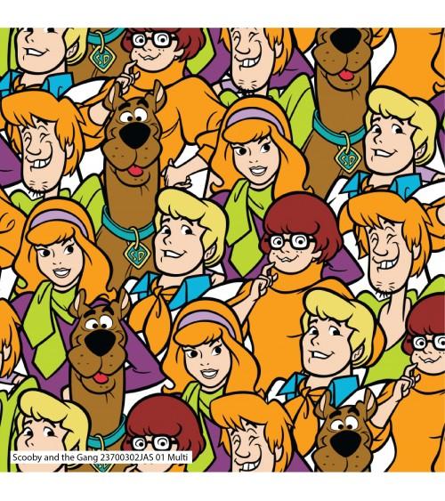 3132370-00 TESSUTO COT.cm110 Scooby Doo