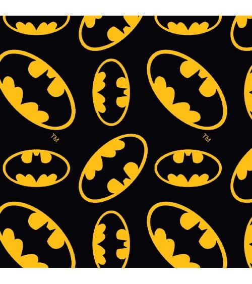 3132390-00 TESSUTO COT.cm110 Batman Logo