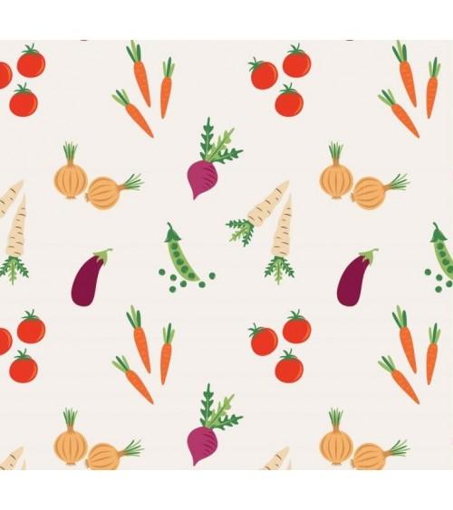 3132573-03 TESSUTO COT.cm110 Vegetable Veg