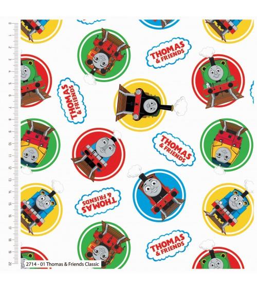 3132714-01 TESSUTO COT.cm110 Thomas e Friends